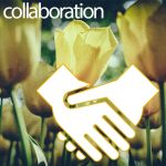 協力、協同、援助、共同研究、合作、共著、利敵協力